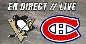 CANADIENS VS PITTSBURGH PRESTIGE/REDS/WHITES/GREYS SAT.MARCH.2ND