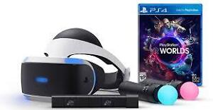 Playstation VR Launch Bundle NEW