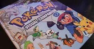 POKEMON CARDS (200) and Pokemon book (Visual Companion)