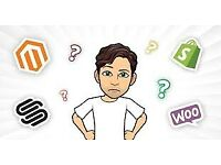 WordPress Shopify WIX Squarespace Magento HTML, PHP Websites And SEO