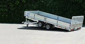 New h/duty Tilt Flatbed Trailer - Glenthorne Trailers Kenwick Gosnells Area Preview