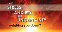 STRESSED ! Get to the source of your fears and worries.