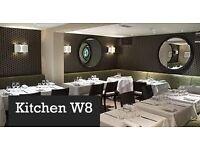 Full Time Waiter, waitress in Kensington