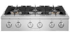 https://aniks.ca Electrolux ICON E36GC76PRS 36'' Gas Slide-In Cooktop 6 burners Buy 05 and get additional 15% off our o