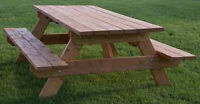 Seeking your UNWANTED outdoor wooden PICNIC TABLE