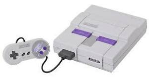 Super Nintendo(Wanted)