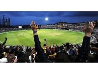 SURREY V KENT T20 TICKETS x 4 - THE OVAL - FRIDAY 6TH JULY - £20 PER TICKET
