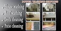 House, Deck, Driveway and anything else you need pressure washed