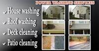 House, Deck, Driveway and Heavy Equipment Pressure Washing