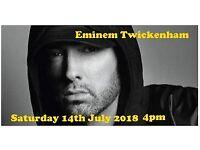 Eminem Twickenham 14th July 2018 4pm