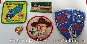 Boy Scout Patch And Pin Lot