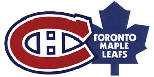 Maple Leafs /Montreal Jan 7 - 2 Pairs GOLD TIX - section 120!!