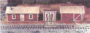 Model RR HO Scale Line side buildings kit