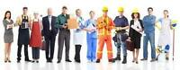 General Labour, Trades & Office Administration Positions