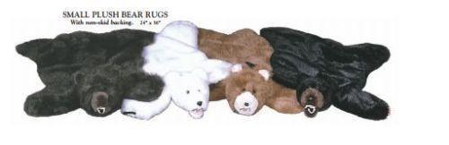 Plush Bear Rug Ebay