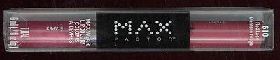 Max Factor Lipfinity Maxwear Long Lasting Lip Color Wtop Coat Red Lace Code 610
