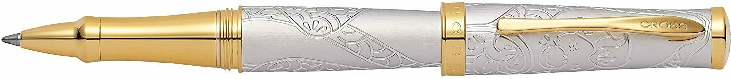 Cross Sauvage Rollerball Pen, Year Of The Monkey, Brushed Platinum Plated Collectibles