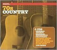 VARIOUS : REAL 70'S COUNTRY (CD) sealed