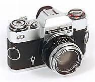 VGC Vintage Carl Zeiss Tesser F2.8/50 Icarex 35S,leather c,warr