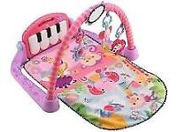 Fisher Price baby girl playmat with piano