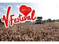 V festival weekend ticket, no camping