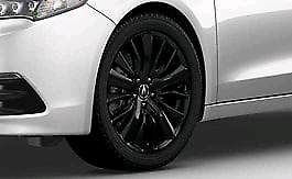 "Genuine OEM Acura TLX 19"" Berlina Black Rims w/ Tires"