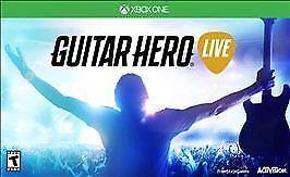 Guitar Hero Live Bundle Microsoft Xbox One With Original Box 2 Guitars Dongles - $85.00