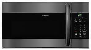 Frigidaire Gallery Black SS 1.7 Cu. Ft. Over-The-Range Microwave CGMV176NTD (BD-2299)