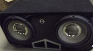 Infinity subwoofer 100.9 with Bassworx Reference Dual Enclosure
