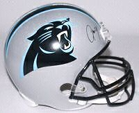 Josh Norman signed panthers helmet with COA