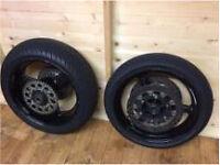Yamaha R1 wheels
