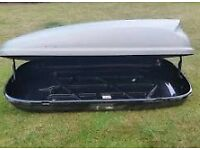 Halfords 420 litre roof box