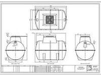 NEW Marsh Ensign 10 PE Sewage Treatment Plant pumped 250mm riser, alarm Environment Agency standard