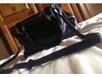 Radley medium black leather bag