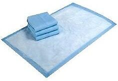 4 pks of Blue pads for puppy training