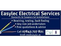 Easylec Electrical Services - Free Quotations.