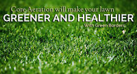 Lawn Aerating, Lawn Rolling, Dethatching BOOK NOW !!