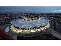 Work @London Stadium for Depeche Mode, Robbie Williams, Guns & Roses