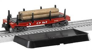 Brand New Lionel 6-37044 CP Rail Log Dump Car