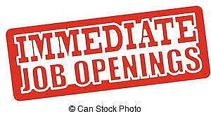 We have Immediate Job Openings! Apply in Person!