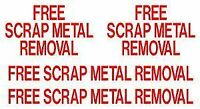 Free Scrap Pick Up in a Timely Manner