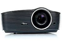 Optoma HD36 DLP Full HD 3D Projector with Optoma 92 Inch Screen. Excellent Condition