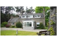 Lovely Three Bedroomed Cottage with large garden and extensive countryside views