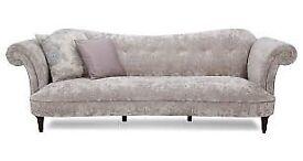 DFS Moray Sofa 3 seater & 2 Seater Cuddler Grey (Mink)