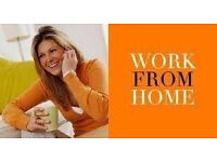 Work from home part time hours to suit