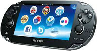 PS VITA with charge grip and 16gb memory card