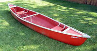 Canoe (and paddles) for sale ore trade