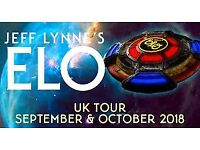 6 x Jeff Lynne's ELO tickets-Block G floor seats Row C & D in front of each other