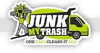 JUNK REMOVAL OR HOUSE MOVING OR FURNITURE DELIVERY
