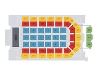 2 X Bastille Tickets **seating block 101 Row E""
